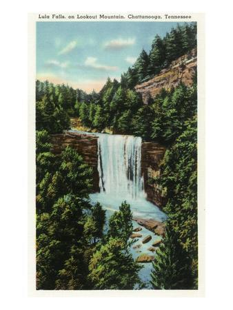 Lookout Mountain, Tennessee - View of Lula Falls
