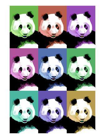 Panda Pop Art - Visit the Zoo
