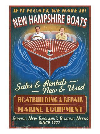 New Hampshire Wooden Boats