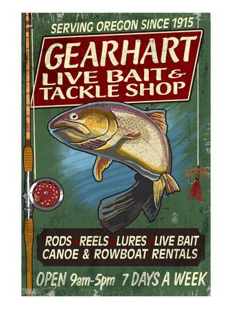 Bait and Tackle Shop Trout -Gearhart, Oregon