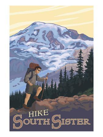 South Sister, Oregon - Hiking Scene