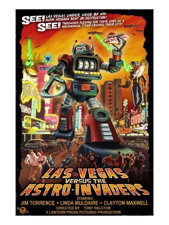 Las Vegas vs. The Astro-Invaders