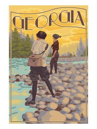 Georgia - Women Fishing