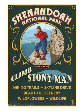 Shenandoah National Park, Virginia - Climb Stony Man