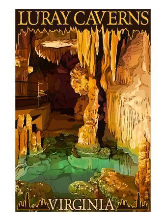 Luray Caverns, Virginia - Wishing Well