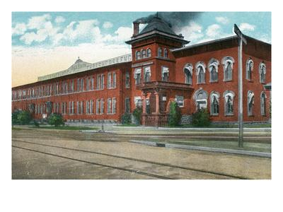 Battle Creek, Michigan - Nichols and Shepard Plant Exterior