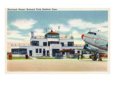 Hartford, Connecticut - Brainard Field Municipal Airport View