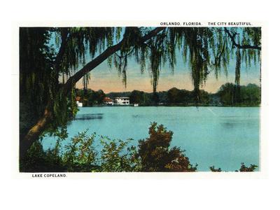 Orlando, Florida - Lake Copeland Scene