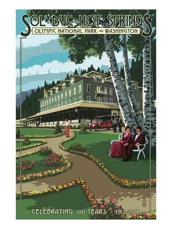 Sol Duc Hot Springs Hotel, Olympic National Park, Washington
