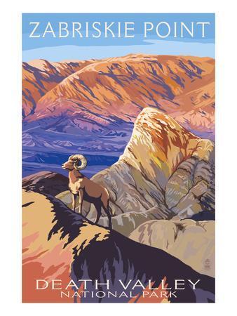 Zabriskie Point - Death Valley National Park