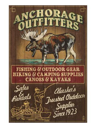 Anchorage, Alaska - Moose Outfitters