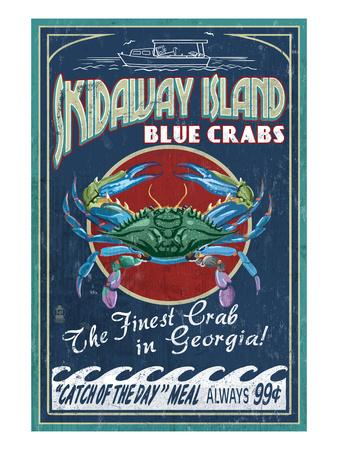 Skidaway Island, Georgia - Blue Crabs