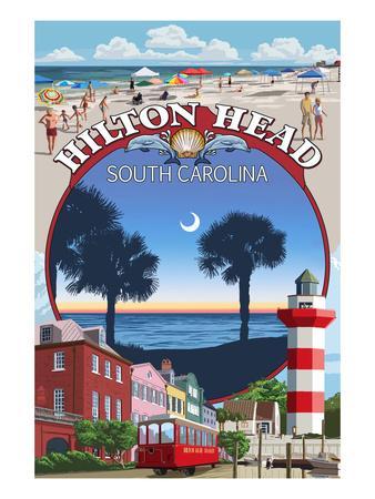 Hilton Head, South Carolina - Montage