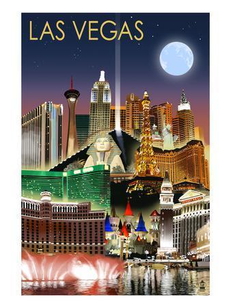 Las Vegas, Nevada - Las Vegas at Night