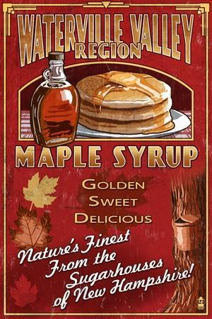 Waterville Valley Region, New Hampshire - Maple Syrup Sign