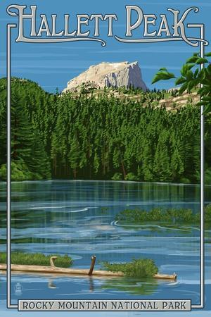 Rocky Mountain Naitonal Park - Hallet Peak