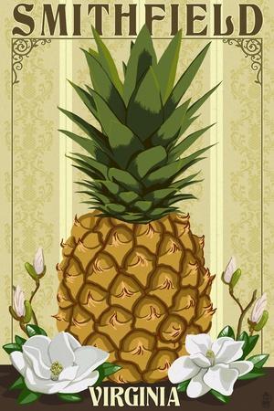 Smithfield, Virginia - Colonial Pineapple