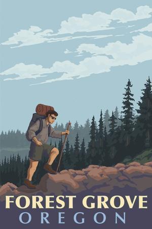 Forest Grove, Oregon - Mountain Hiker