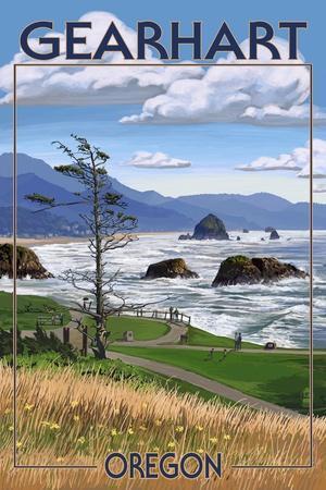 Gearhart, Oregon - Rocky Shore