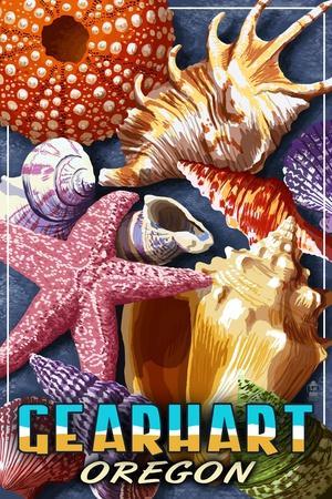 Gearhart, Oregon - Shells Montage