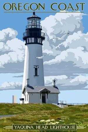 Yaquina Head Lighthouse - Oregon Coast
