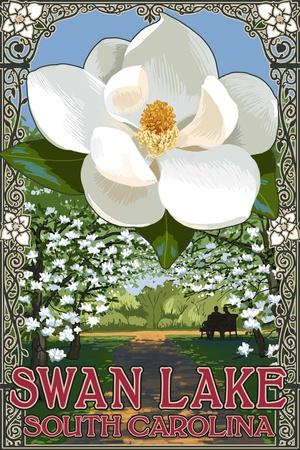 Swan Lake, South Carolina - Magnolia
