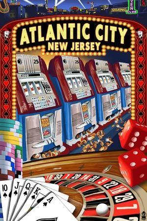 Atlantic City, New Jersey - Casino Scene