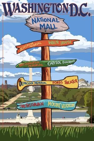Washington, DC - Sign Destinations
