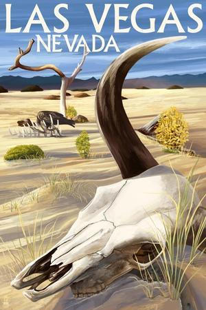 Cow Skull - Las Vegas, Nevada