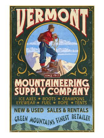 Vermont - Mountaineering Supply Company