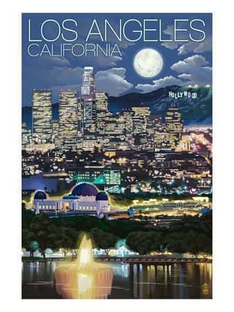 Los Angeles, California - Los Angeles at Night