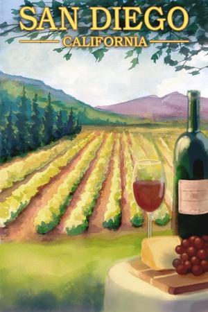 San Diego, California - Wine Country
