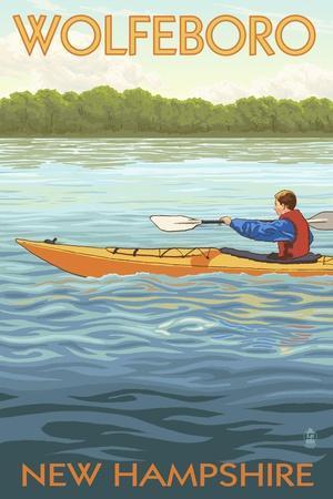 Wolfeboro, New Hampshire - Kayak Scene