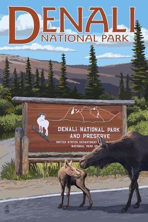 Denali National Park, Alaska - Park Entrance