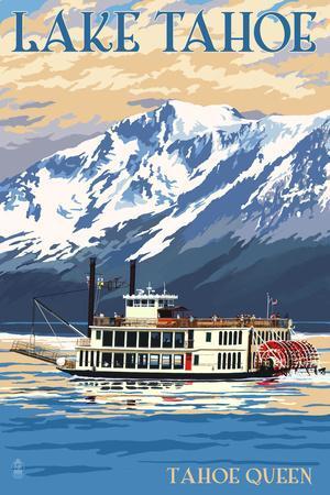 Lake Tahoe - Tahoe Queen Paddleboat