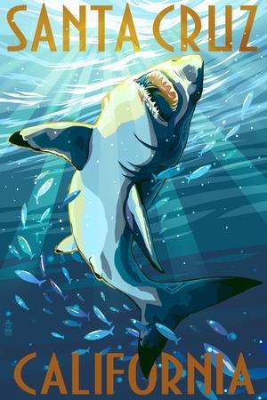 Santa Cruz, California - Great White Shark