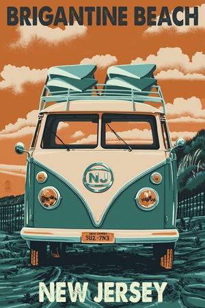 Brigantine Beach, New Jersey - VW Van