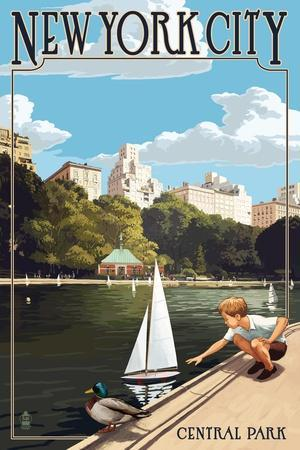 New York City, New York - Central Park
