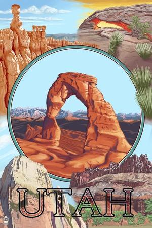 Utah - Delicate Arch Montage