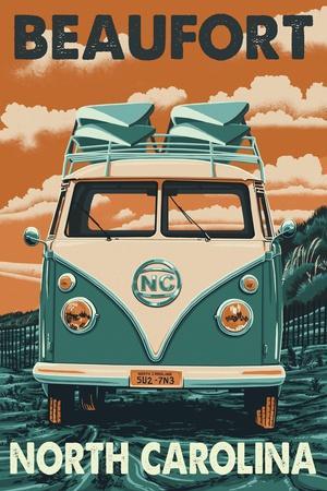 Beaufort, North Carolina - Letterpress