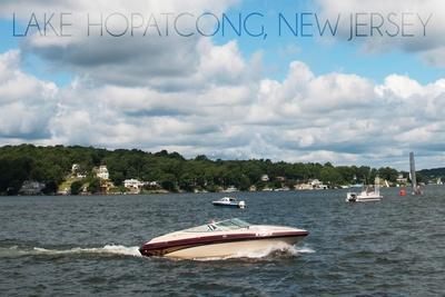 Lake Hopatcong, New Jersey - Boats on the Lake