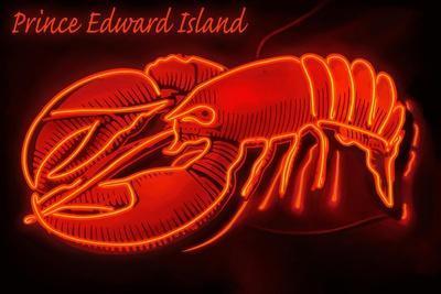Prince Edward Island - Lobster Neon Sign