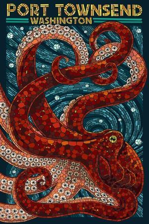 Port Townsend, Washington - Octopus Mosaic