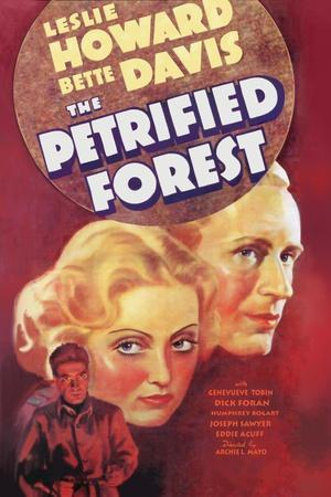 The Petrified Forest - (#3) Vintage Movie Poster