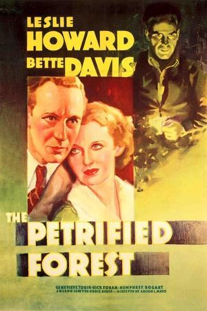 The Petrified Forest - (#2) Vintage Movie Poster