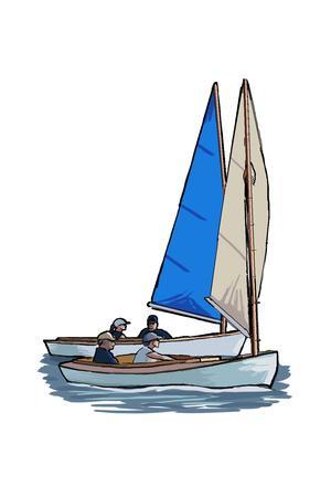 Sailboat - Icon