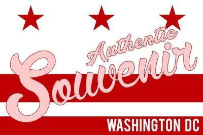 Visited Washington DC - Authentic Souvenir