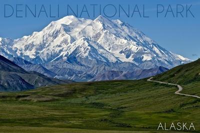 Denali National Park, Alaska - Mountain View