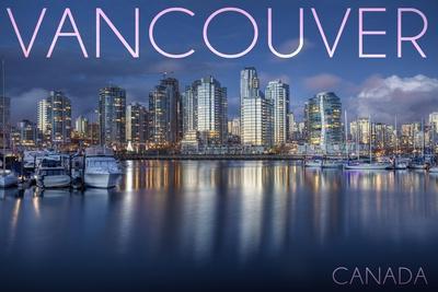 Vancouver, Canada - Marina and City