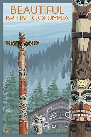 British Columbia, Canada - Totem Pole